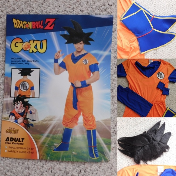 b09e0548595 Men s Halloween Costume DragonBall Z Goku